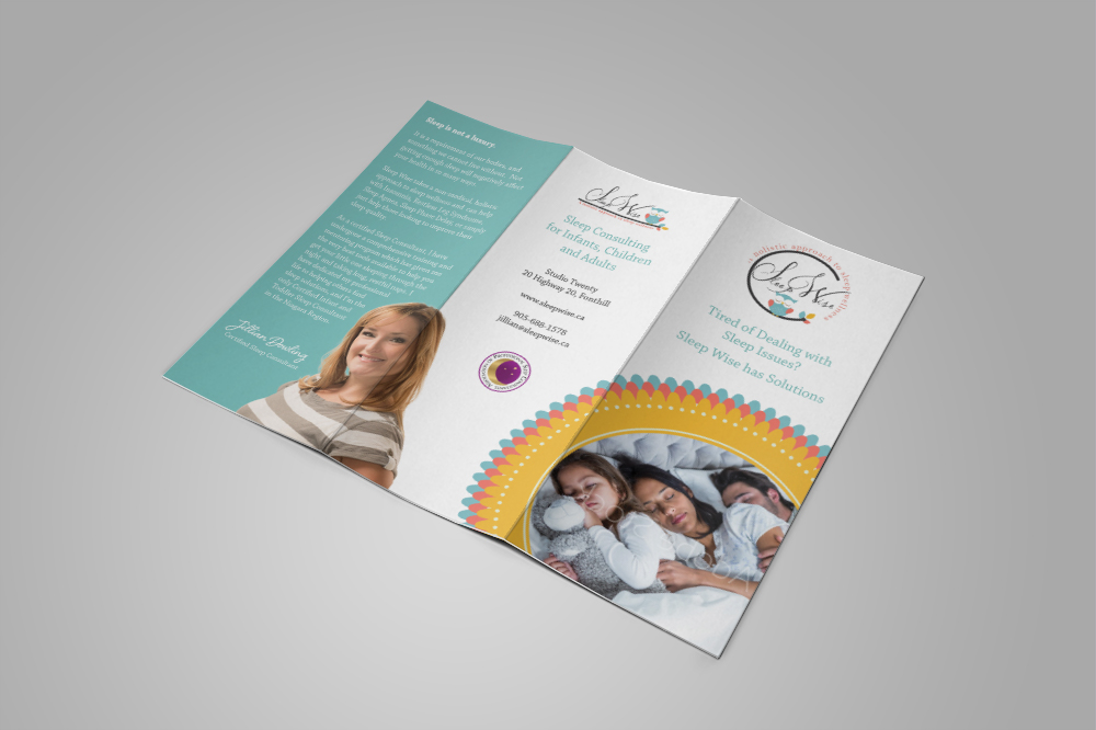 SleepWise brochure outside
